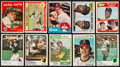 Baseball Cards:Lots, 1950's - 80's Topps, Hostess, Etc. Baseball Collection (350+) With1959 Mantle. ...