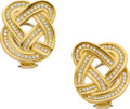Estate Jewelry:Earrings, Diamond, Gold Earrings, Angela Cummings for Tiffany & Co. . ...