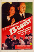 "Movie Posters:Mystery, Mystery of the 13th Guest & Others Lot (Monogram, 1943). OneSheets (3) (27"" X 41""). Mystery.. ... (Total: 3 Items)"