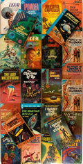 Books:Science Fiction & Fantasy, [Ace Doubles]. Lot of Twenty-Five Science Fiction Novels, Mostly Ace Doubles. New York: Ace, [various dates]. Some volumes a... (Total: 25 Items)