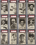 """Baseball Cards:Sets, 1936 R314 Goudey """"Wide Pen"""" Type 1, 2, 3, 4 Premiums Collection (141) With Type 1 Near Set. ..."""