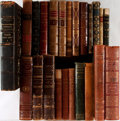 Books:Fine Bindings & Library Sets, [Leather Bindings]. Group of Twenty-Three Books with Assorted Leather Bindings. [Various places, publishers, dates]. Octavo ... (Total: 23 Items)