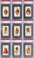 "Non-Sport Cards:Sets, 1887 N2 Allen & Ginter ""American Indian Chiefs"" Near Set(37/50). ..."