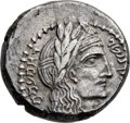 Ancients:Greek, Ancients: NABATEAN KINGDOM. Rabbell II, with Gamilath (AD 71-106).AR drachm (15mm, 5.20 gm, 12h)....