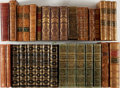 Books:Fine Bindings & Library Sets, [Leather Bindings]. Lot of 33 Assorted Leather Bindings. [Variousplaces, publishers, dates]. Octavo and quarto volumes. Gen...(Total: 33 Items)