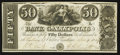 Obsoletes By State:Ohio, Gallipolis, OH- The Bank of Gallipolis $50 Nov. 9, 1839 Wolka1171-13. ...