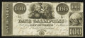 Obsoletes By State:Ohio, Gallipolis, OH- The Bank of Gallipolis $100 Nov. 9, 1839 Wolka1171-15. ...