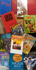 Books:Science Fiction & Fantasy, [Stevenson, Poe, Burroughs, Williamson, Lovecraft, et al]. Group Lot of Seventeen Works of Fiction, Mostly Sci-Fi. Various p... (Total: 17 Items)