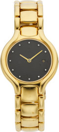 "Estate Jewelry:Watches, Ebel Lady's Diamond, Gold ""Beluga"" Watch . ..."
