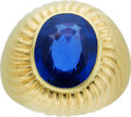 Estate Jewelry:Rings, Burma Sapphire, Gold Ring, Van Cleef & Arpels, French. ...