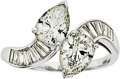 Estate Jewelry:Rings, Diamond, Platinum Ring, J.E. Caldwell & Co.. ...