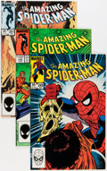 Modern Age (1980-Present):Superhero, The Amazing Spider-Man Group (Marvel, 1981-87) Condition: AverageNM.... (Total: 68 Comic Books)