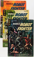 Silver Age (1956-1969):Science Fiction, Magnus Robot Fighter #1-46 Near Complete Run Group (Gold Key,1963-77) Condition: VG/FN.... (Total: 45 Comic Books)