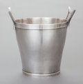 Silver & Vertu:Hollowware, A HENRY PETZAL SILVER WINE COOLER. Henry Petzal, Lenox, Massachusetts and La Jolla, California, circa 1970. Marks: HP (i...
