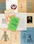Books:Reference & Bibliography, Group of Twelve Bookseller Catalogs on the Subject of Science andMedicine. Various booksellers, primarily late twentieth ce...