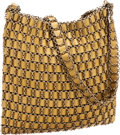 Luxury Accessories:Bags, Bottega Veneta Gold Woven Chain Bag. ...