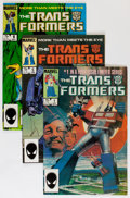 Modern Age (1980-Present):Superhero, Transformers Group (Marvel, 1984-91) Condition: Average NM-....(Total: 52 Comic Books)