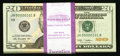 Small Size:Federal Reserve Notes, Three-Digit Serial Number 101-200 Fr. 2095-H $20 2009 Federal Reserve Notes. Original Pack of 100. Gem Crisp Uncirculated.. ... (Total: 100 notes)