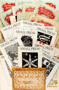 Books:Books about Books, Large Lot of Trade Journals Relating to Book Arts. Includes issues of Small Press, Fine Print, and American ...