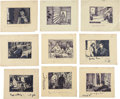 "Movie/TV Memorabilia:Original Art, A Collection of Original Storyboards from ""Casbah.""..."