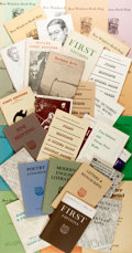 Books:Reference & Bibliography, Group of Thirty-Eight Book Catalogs from Bertram Rota and the BowWindow Bookshop. Most circa 1970s and 1980s. Original wrap...