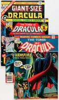 Bronze Age (1970-1979):Horror, Tomb of Dracula Group (Marvel, 1973-79) Condition: Average FN....(Total: 37 Comic Books)