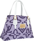 Luxury Accessories:Bags, Louis Vuitton Purple Monogram Tahitienne Cabas PM Shoulder Bag. ...