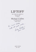 Autographs:Celebrities, Michael Collins Signed Book: Liftoff. The Story of America'sAdventure in Space. ...