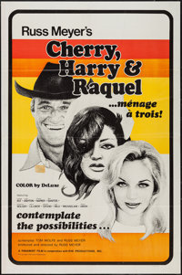 "Cherry, Harry & Raquel (Eve Productions, 1970). One Sheet (27"" X 41""). Sexploitation"