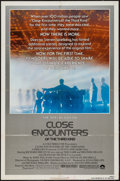 "Movie Posters:Science Fiction, Close Encounters of the Third Kind (Columbia, R-1980). One Sheet (27"" X 41""). Science Fiction.. ..."