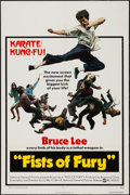 """Movie Posters:Action, Fists of Fury (National General, 1973). One Sheet (27"""" X 41""""). Action.. ..."""