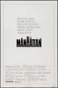 "Movie Posters:Comedy, Manhattan (United Artists, 1979). One Sheet (27"" X 41"") Style A. Comedy.. ..."