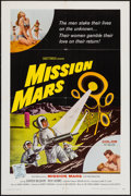 """Movie Posters:Science Fiction, Mission Mars (Allied Artists, 1968). One Sheet (27"""" X 41""""). ScienceFiction.. ..."""