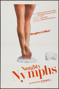 "Movie Posters:Sexploitation, Naughty Nymphs (United Film Distributor, 1972). One Sheet (27"" X41""). Sexploitation.. ..."