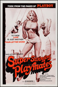 "Inside Amy & Other Lot (Marden, R-1970s). One Sheets (2) (27"" X 41"") Re-Release Title: Super Swinging..."