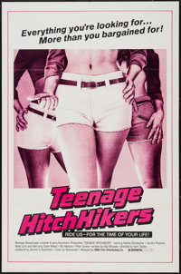 "Teenage Hitchhikers & Other Lot (NMD, 1975). One Sheets (2) (27"" X 41"" & 28"" X 42"")..."