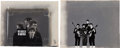 Music Memorabilia:Photos, Beatles Original CBS On-Air Art Cards Promoting their February 1964Appearance on the Ed Sullivan Show.... (Total: 2 Items)