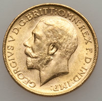 Australia: George V gold Sovereign 1912-M