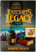 Books:Horror & Supernatural, [H. P. Lovecraft]. Robert E. Weinberg, Martin H. Greenberg,editors. SIGNED. Lovecraft's Legacy. New York: Tom Doher...