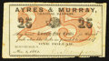 Obsoletes By State:Ohio, Huntsburgh, OH- Edmund Thompson at Ayres & Murray, Bankers 25¢Nov. 1, 1862 Wolka 1332-04. ...