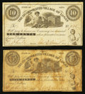 Obsoletes By State:Ohio, Logan, OH- The Incorporated Village of Logan 5¢; 10¢ Wolka 1501-01;-02. ... (Total: 2 notes)