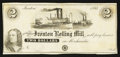 Obsoletes By State:Ohio, Ironton, OH- The Ironton Rolling Mill $2 Remainder Wolka 1348-06....