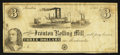 Obsoletes By State:Ohio, Ironton, OH- The Ironton Rolling Mill $3 Remainder Wolka 1348-07....