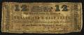 Obsoletes By State:Ohio, Lancaster, OH- Uncertain Issuer 12-1/2¢ Jan. 1, 1838 Wolka 1446-02....