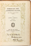 Books:Literature Pre-1900, Peter Newell, illustrator. SIGNED. Lewis Carroll. Through theLooking-Glass. New York: Harper & Brothers, 1902. Firs...