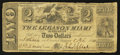 Obsoletes By State:Ohio, Lebanon, OH- The Lebanon Miami Banking Co. $2 Feb. 8, 1841 G30Wolka 1455-20. ...