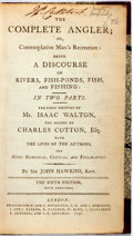Books:Sporting Books, Isaac Walton and Charles Cotton. The Complete Angler.London: Printed for C. Rivington et al., 1797. Sixth Edition. ...