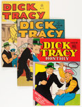 Golden Age (1938-1955):Crime, Dick Tracy-Related Group (Dell/Harvey, 1946-52) Condition: Average FN-.... (Total: 4 Comic Books)