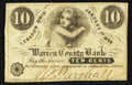 Obsoletes By State:Ohio, Lebanon, OH- William F. Parshall at the Warren County Bank 10¢ Jan.1, 1863 Wolka 1457-02. ...
