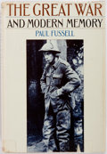 Books:World History, Paul Fussell. The Great War and Modern Memory. New York and London: Oxford University Press, 1975. First edition...